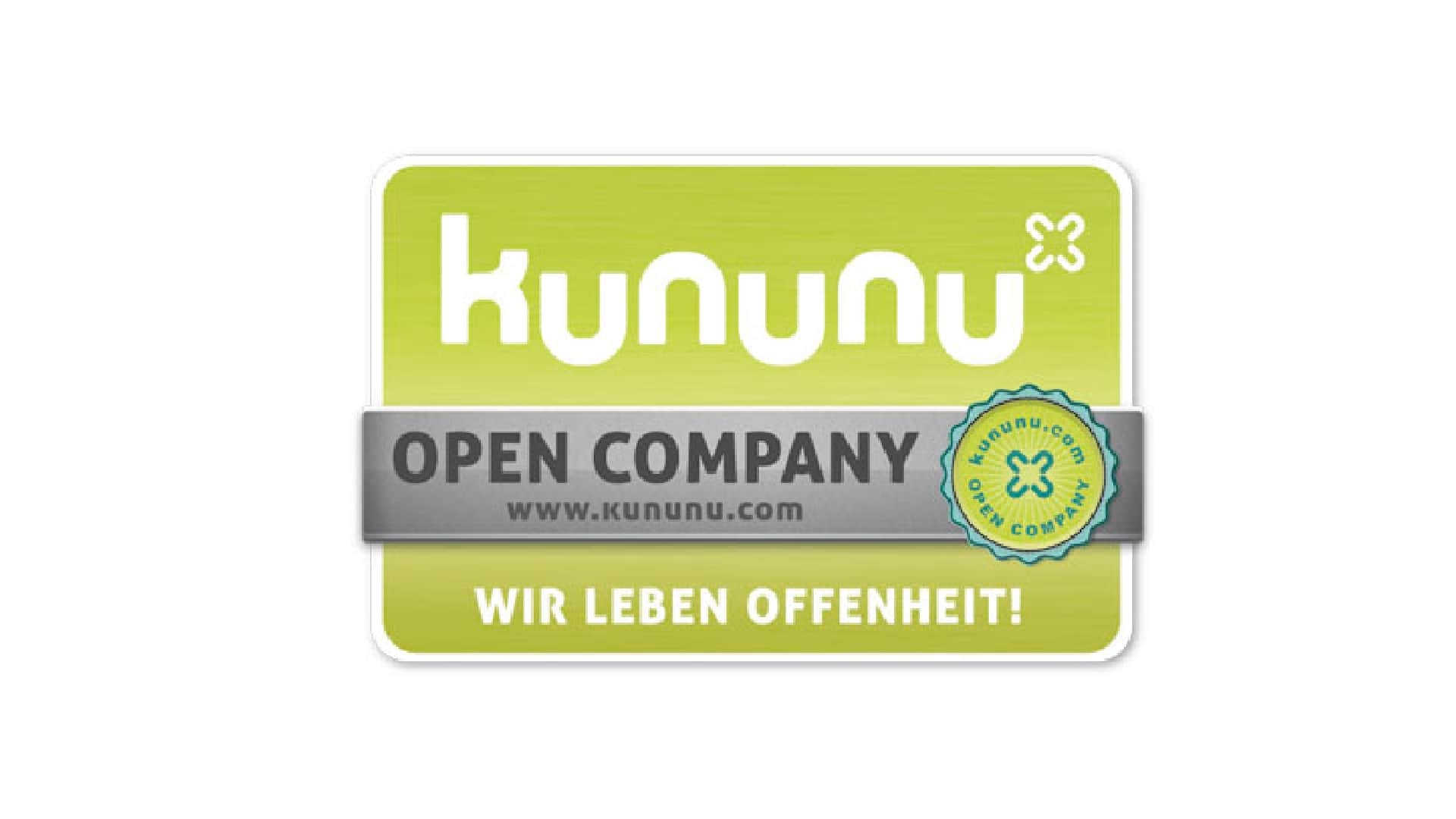 Kununu Siegel Open Company Audi Interaction