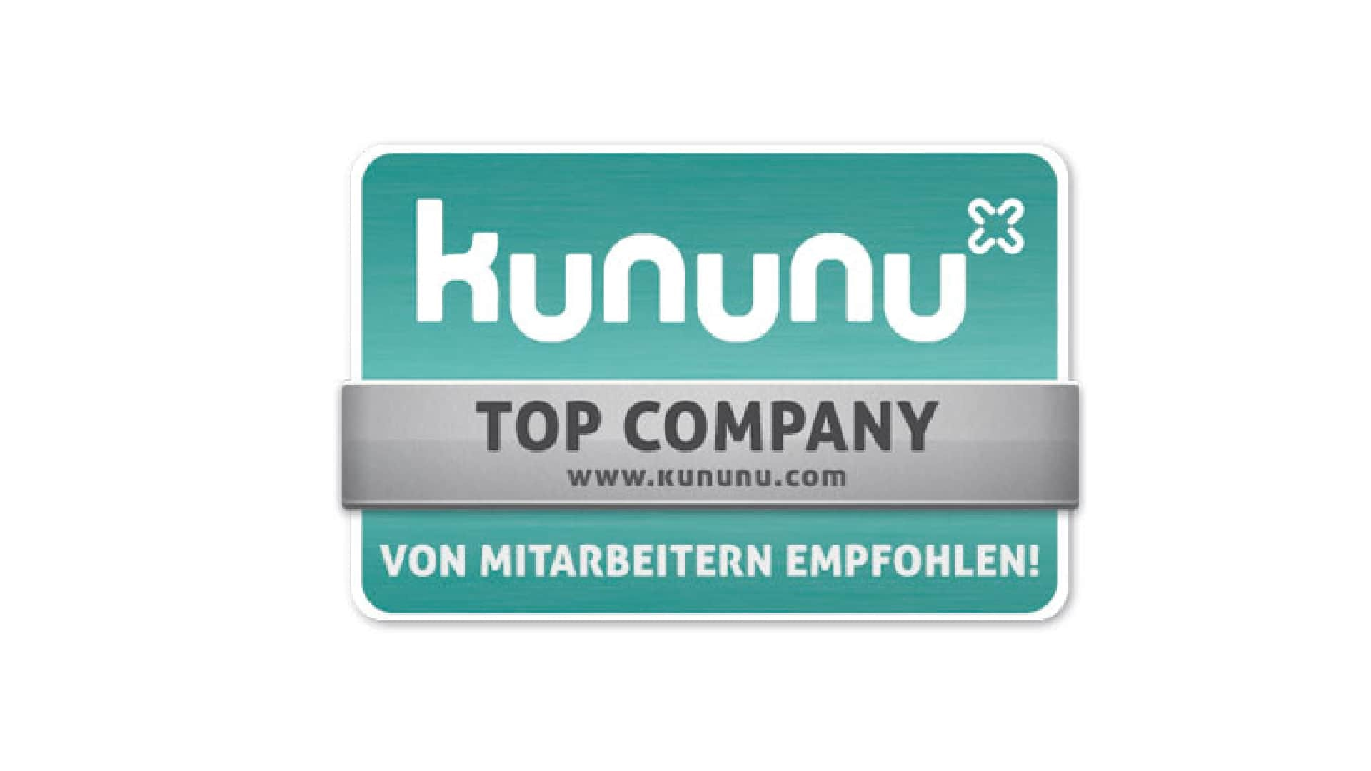 Kununu Siegel Top Company Audi Interaction